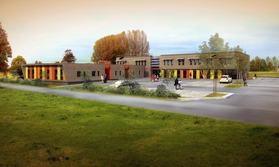 Tecte atelier d 39 architecture construction d une maison - Cabinet medical saint romain de colbosc ...