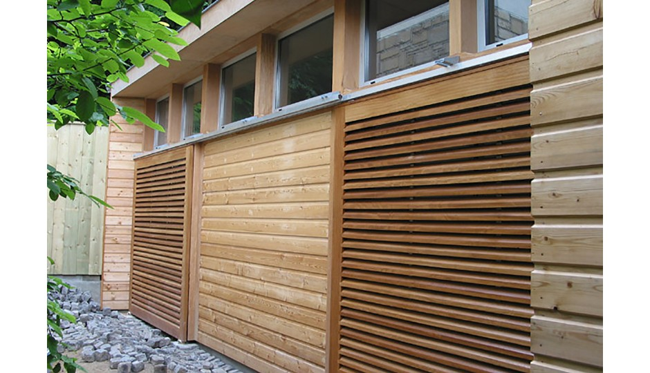 Tecte atelier d 39 architecture extension d une maison de particulier sur jardin au havre 76 - Maison jardin tassin le havre ...